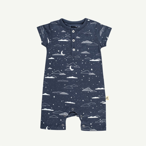 Cloudy Night S/S Jumpsuit