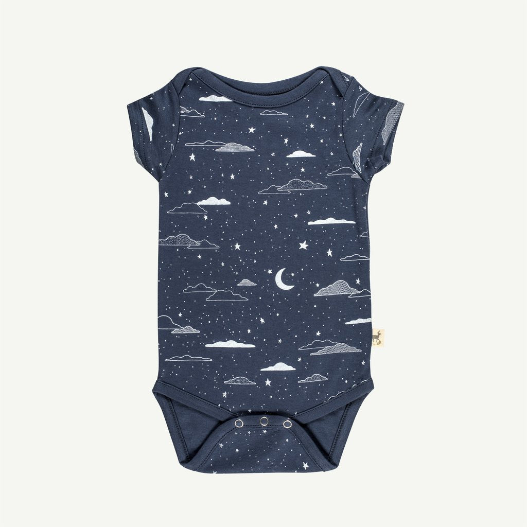Cloudy Night S/S Onesie