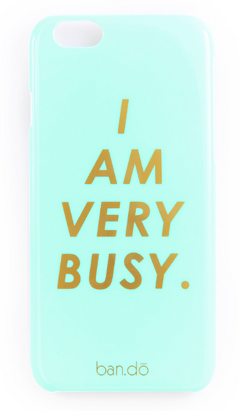 I AM VERY BUSY- iPhone Case