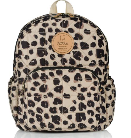 Mini Companion Backpack-Leopard Print