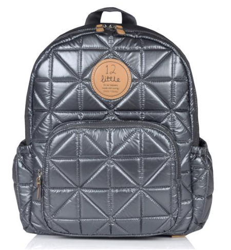 Mini Companion Backpack-Pewter