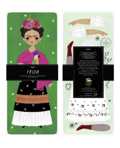 Paper Doll Kit: Frida