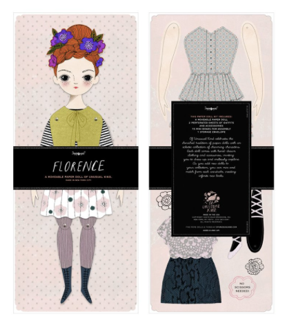 Paper Doll Kit: Florence