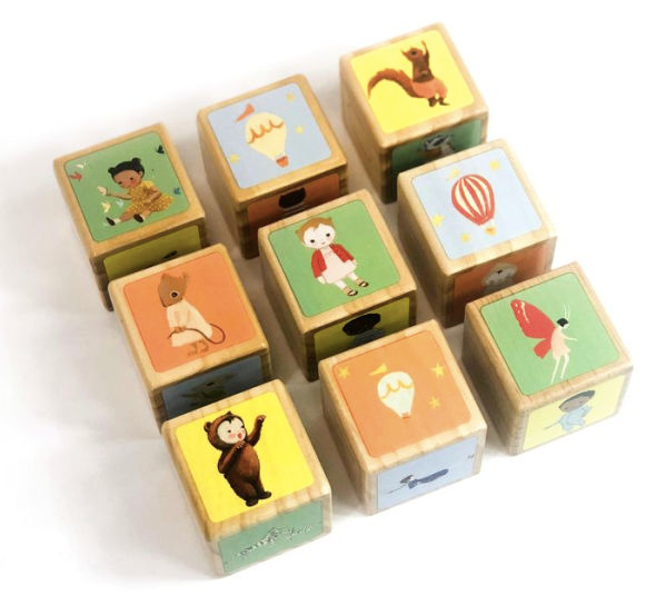 Dream World Wooden Block Set