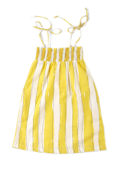 Yellow Stripe Dress