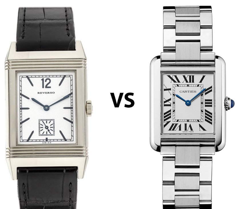 Jaeger-LeCoultre Reverso Vs. Cartier Tank: Which One Is Better?