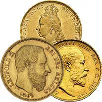 European Gold Sovereigns
