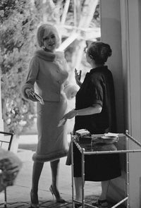 "LAWRENCE SCHILLER ""Something's Got To Give"" 1962 Silver Gelatin Print - $7K Appraisal Value!"