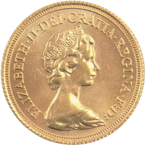 Great Britain Gold 1/2 Sovereign – Queen Elizabeth II