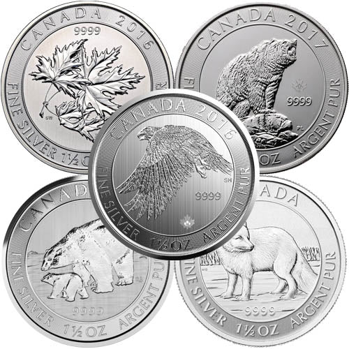 1.5 oz Silver Coin (Varied, Any Mint)