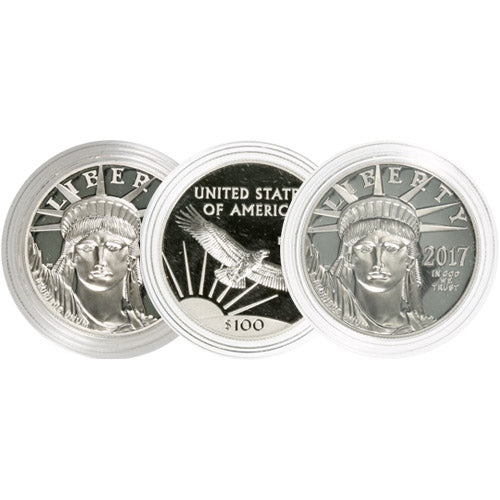 1 oz Proof American Platinum Eagle Coin (Random Year, Capsules Only)