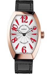 Franck Muller 18K RG 27mm Model 11002 L QZ 5N White Red