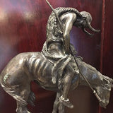"Original Signed ""End of the Trail"" Sculpture by James Earle Fraser circa 1894"