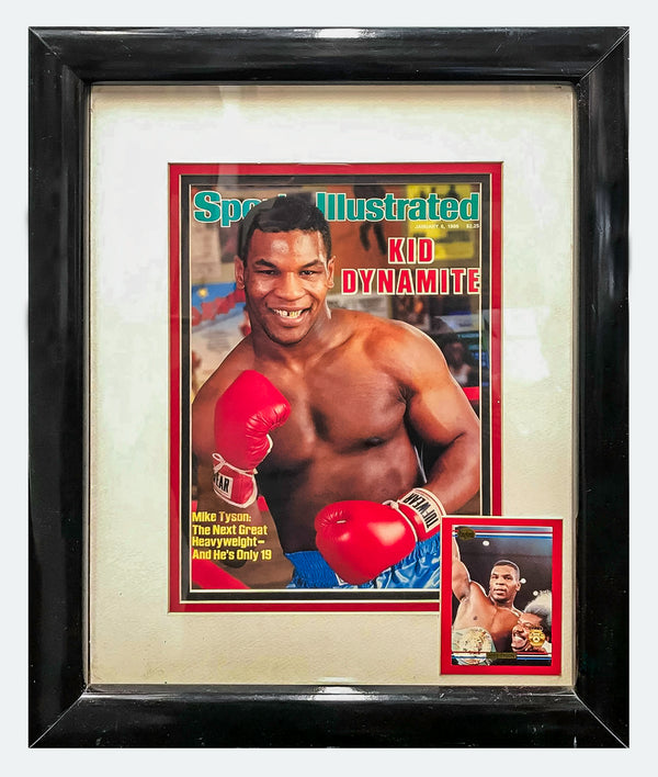 MIKE TYSON 1986 Sports Illustrated Cover & Boxing Card - $3K APR Value w/ CoA! +