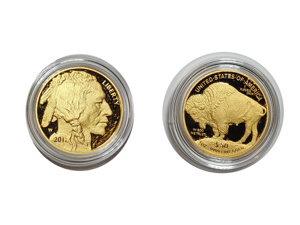 2011 American Gold Buffalo Proof - $7K APR Value w/ CoA! ✿✓