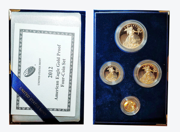 2012 American Gold Eagle Bullion Proof Set - $6K APR Value w/ CoA! ✿✓