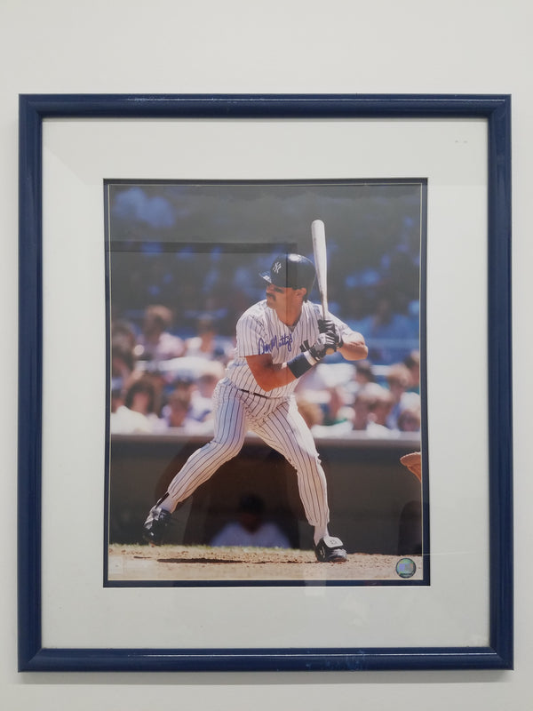 Don Mattingly Signed Photograph C 1995 Est Apr Val $1.5K
