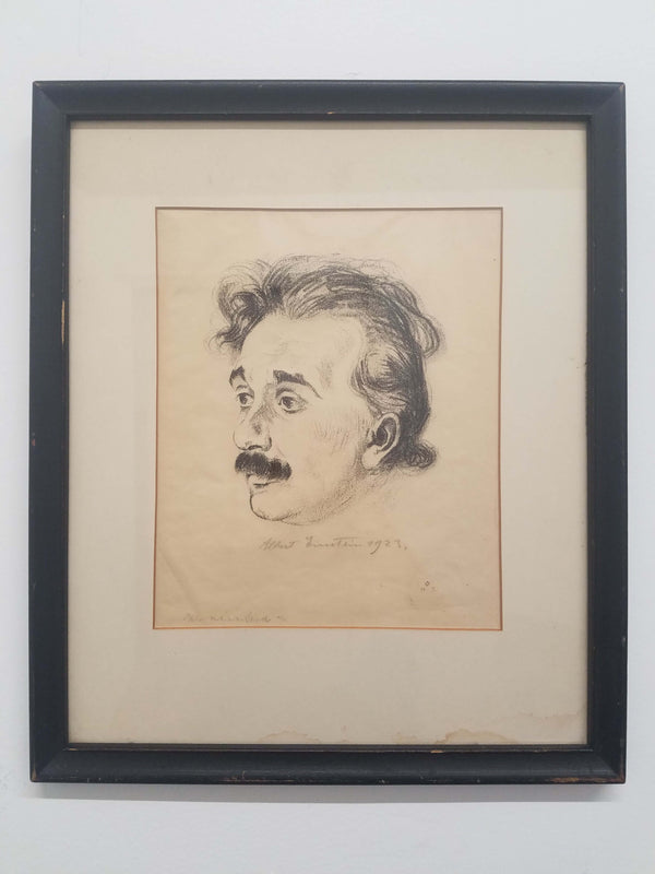 HERMANN STRUCK, ALBERT EINSTEIN PORTRAIT, C 1923, 47/150 - APR $30K VALUE*