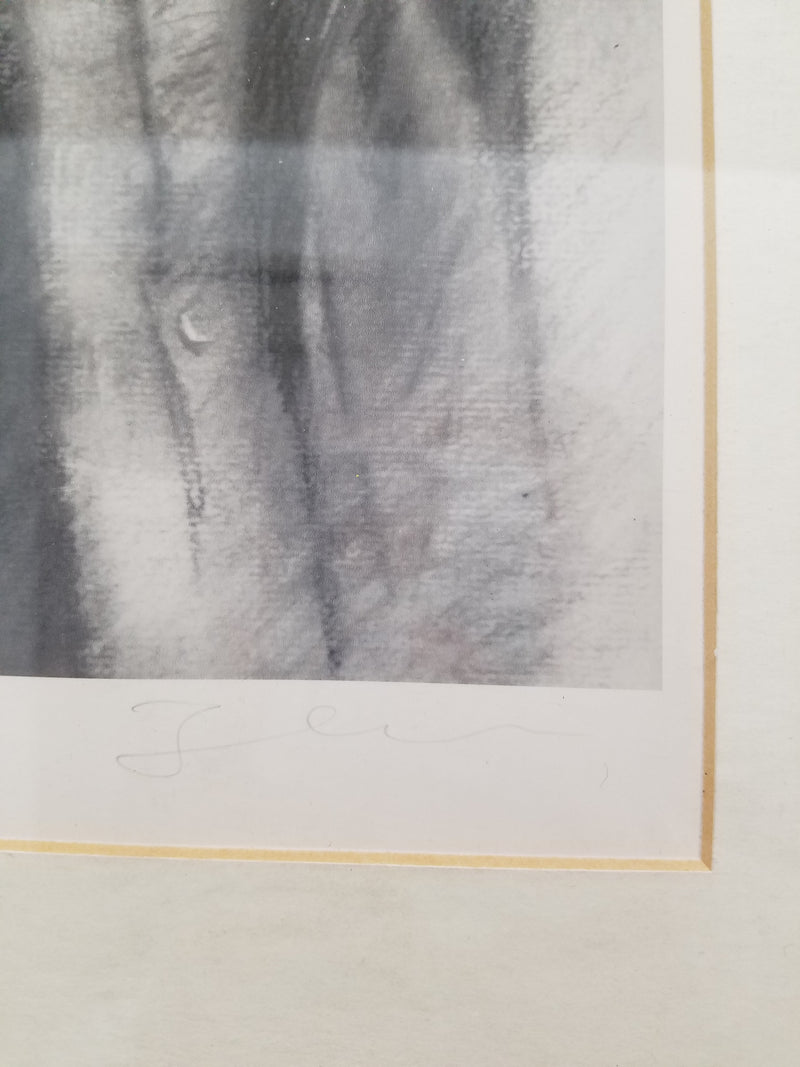 "JOHN LENNON ""The Beatles"", Limited Edition 48/350 Black and White Lithograph, C. 1960s - $20K VALUE"