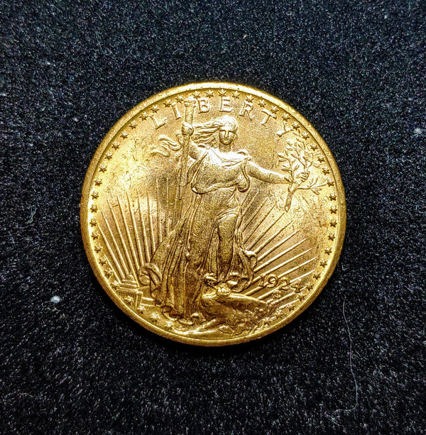 1924 St. Gaudens $20 Liberty Double Eagle - $3K APR Value w/ CoA! ✿✓