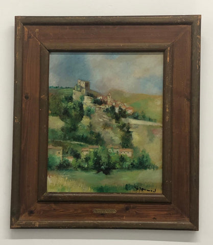"Germaine Joumard ""École de Paris"" Oil on Canvas C.1900s 20th Century $4K Apr Val"
