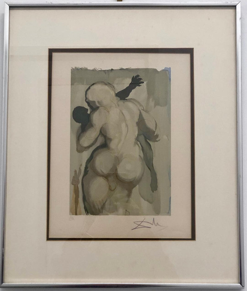 Salvador Dali, 'Purgatory Canto 6, The Divine Comedy,' Artist Proof, c.1960 - Appraisal Value: $150K*