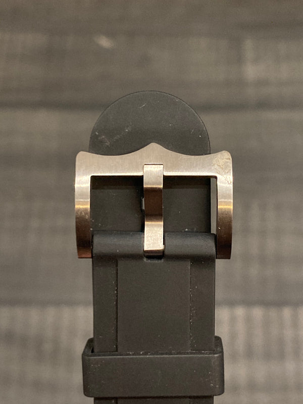 TUDOR Signed Stainless Steel Tang Buckle - $350 APR VALUE w/ CoA! ✓