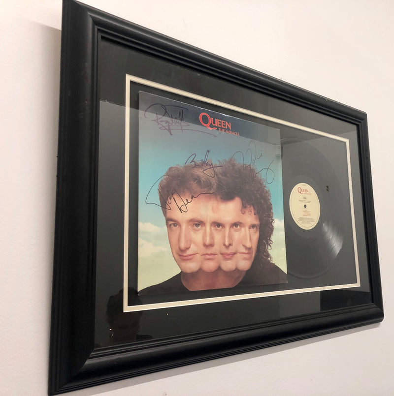 "QUEEN ""The Miracle"" Vinyl Record Album Signed Circa 1989 - $15K VALUE"