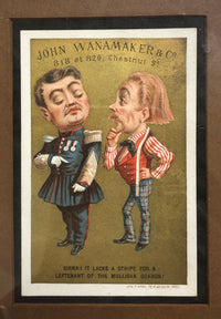 F. APPEL Antique John Wanamaker & Co Victorian Trade Cards 1885 - Apr Val: $1.6K!