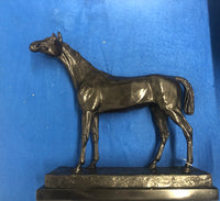 JULES MOIGNIEZ Bronze Horse Statue, Mid-Late 1800s Signed - $10K Appraisal Value! *