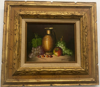 Frank Lean, Still Life Oil Painting, c. 1970 - Appraisal Value: $3K*