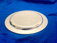 TIFFANY & CO. Antique Silver-Plated Serving Plate 33oz Circa 1920 - $10K Apr Value