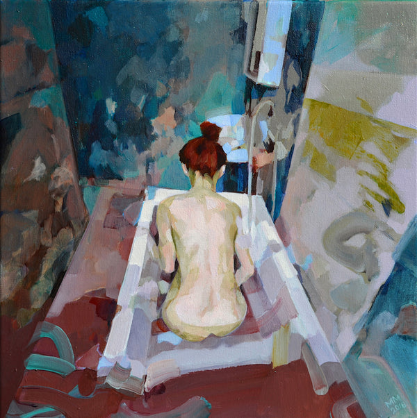 Melinda Matyas, 'Voyager', Series: The Becoming, Oil on Canvas, 2018 - Appraisal Value: $5K!
