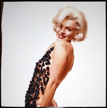 "1962 Marilyn Monroe With Scarf ""The Lost Sitting"" by Bert Stern Signed Numbered LTD ED 25/50 w/COA - $10K VALUE"