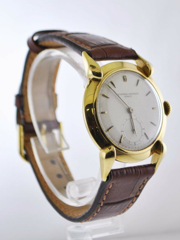VACHERON CONSTANTIN Vintage C. 1940's 18K Yellow Gold Men's Watch - $40K Appraisal Value! ✓
