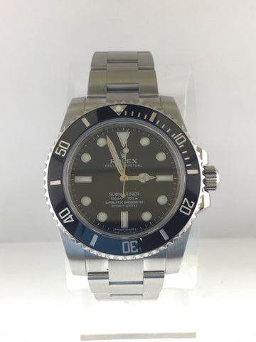 Men's Rolex Submariner in Stainless Steel with Black Dial Est $12K!