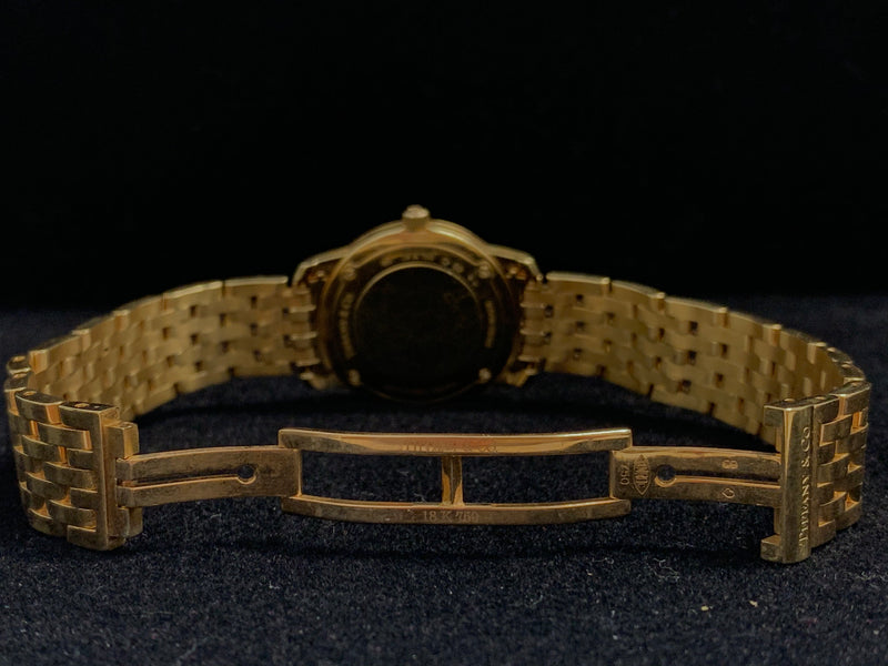 TIFFANY & CO. Ladies 18K Gold Wristwatch w/ approx. 52 Diamonds - $40K APR Value w/ CoA!