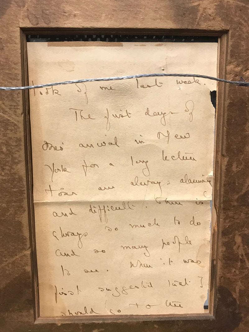 HUGH WALPOLE Four-Page Letter to the Manager of the Waldorf-Astoria, C. 1922 - $3K Appraisal Value!