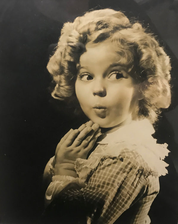 SHIRLEY TEMPLE, Autographed Photo - APR $10K Value*