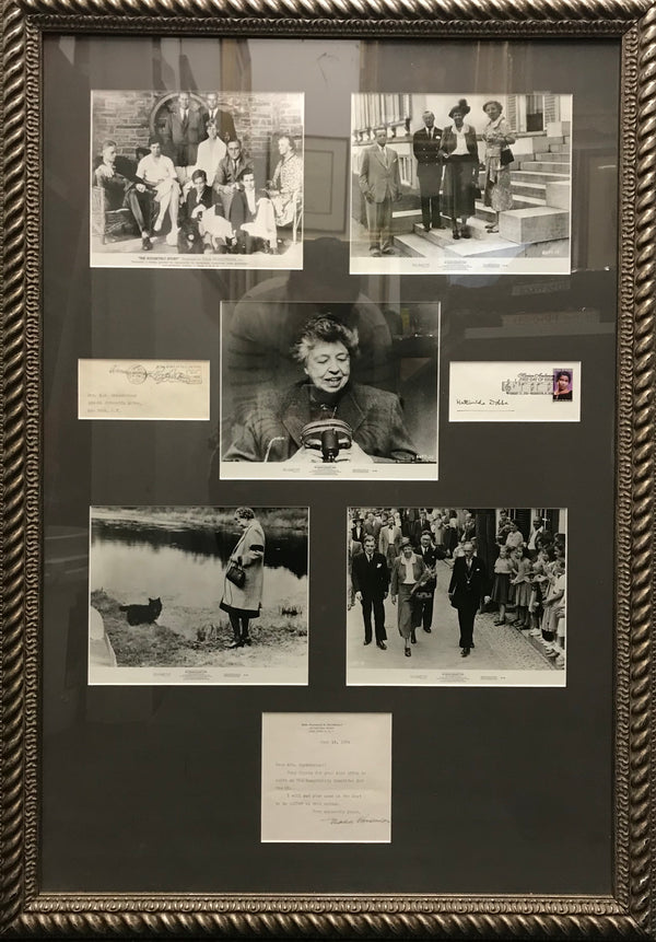 ELEANOR ROOSEVELT Collection of Moments and Memories w/ Signed Letter - APR $3K*