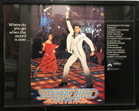 """Saturday Night Fever"" Autographed Poster - Appraisal Value: $5K*"