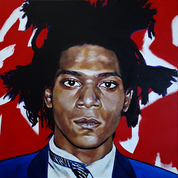Jack Graves III, 'Jean-Michel Basquiat Icon', Icon Series 2019 - Apr Value: $3.5K*