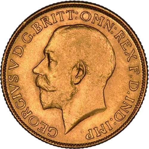 Great Britain Gold Sovereign Coin – King George