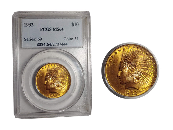 1932 Indian Head Eagle MS-63 (NGC) - $2.5K APR Value w/ CoA! ✿✓