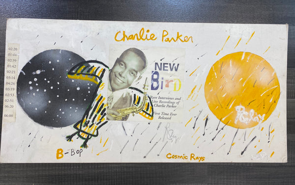 Richard Clay, 'Cosmic Rays (Charlie Parker), Signed Acrylic Painting, 2004 - Appraisal Value: $6K