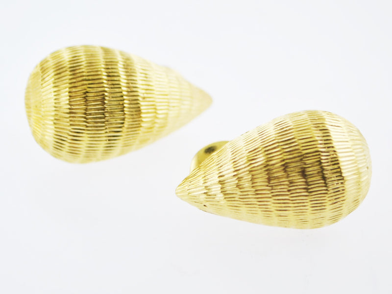 Vintage David Webb Drop Clip Earrings in Platinum & 18K Yellow Gold - $8K VALUE !!!