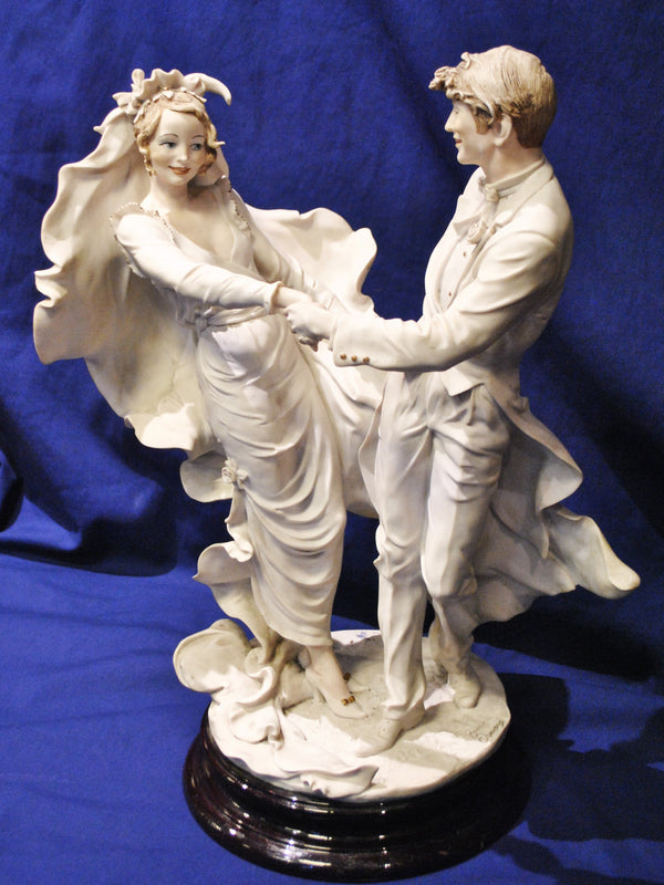 GUISEPPE ARMANI Wedding Waltz, Porcelain Figurine, 1993, Italy - $6K VALUE*