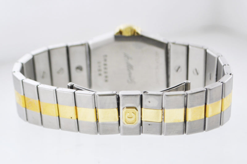 Vintage Chopard St. Moritz Ref.# 8024 Mini Wristwatch Two-Tone Stainless Steel and Yellow Gold Oyster Bracelet - $15K VALUE