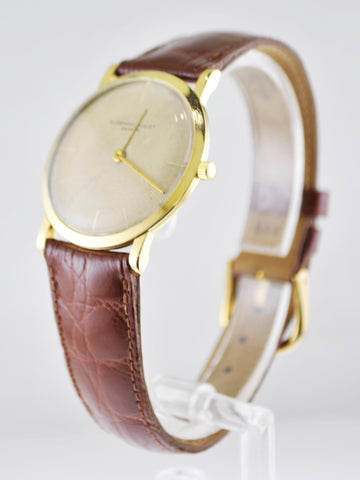 1950s Vintage Audemars Piguet Men's Wristwatch in 18K yellow gold - $25K VALUE