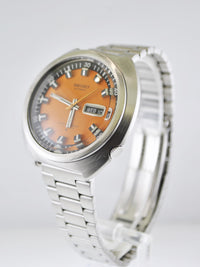 1970s Vintage Seiko Automatic Men's Wristwatch in Stainless Steel - $6K VALUE
